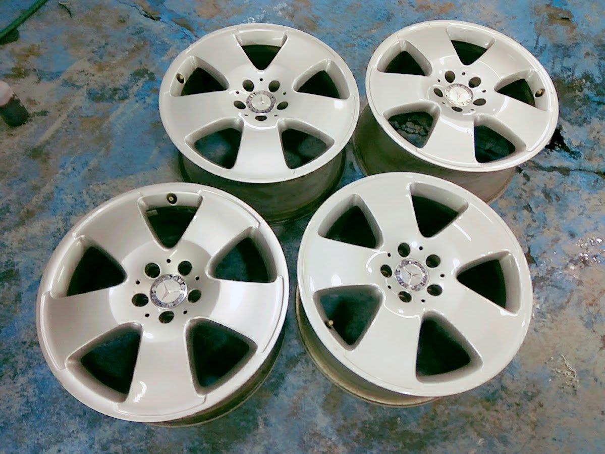 賓士 原廠 18吋 鋁圈 漂亮 W204 W205 W140 W220 W221 W211 W212 W203 德祥行