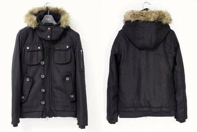 【出貨快速】日本品牌suggestion 頂級N-2B連帽羊毛厚實鋪綿軍裝外套短大衣