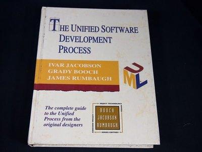 【考試院二手書】《The unified software development process》│Addison-Wesley│Jacobson│七成新(31F36)