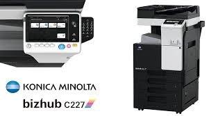 【小智】KONICA bizhub C227彩色影印機(A3影印/傳真/列印/掃瞄/雙面)