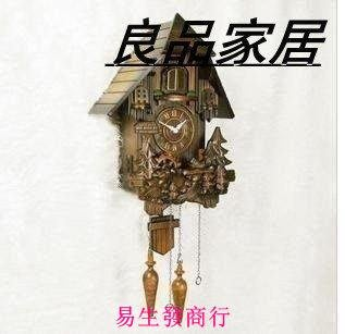 【易生發商行】感光智能報時實木手工雕刻...