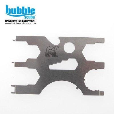 全館免運 【新品上市】bubblescuba Multifunction tool 多功能潛水氣瓶維修工具[攝像]-9