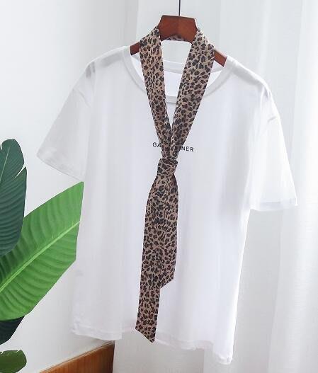 韓版 純棉短袖T桖  白色上衣服 夏寬松丅恤—莎芭