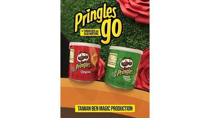 【天天魔法】【S1193A】正宗原廠~品客幻覺(綠變紅)~Pringles Go by Taiwan Ben