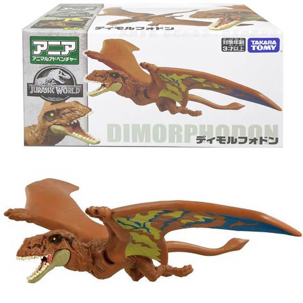 【台灣出貨 3C小苑】AN15959 正版 日本 多美 侏儸紀世界 雙型齒翼龍 多美動物 探索動物 恐龍 翼龍