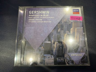 *還有唱片行*GERSHWIN / RHAPSODY IN BLUE 二手 Y12468