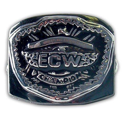 ☆阿Su倉庫☆WWE摔角 ECW 2008 3D Heavyweight Championship Ring ECW戒指