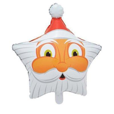 【J25】聖誕節鋁膜汽球鋁箔氣球聖誕樹聖誕老公公耶誕老人雪人耶誕節耶誕樹造型氣球DIY佈置氣球布置
