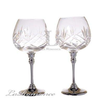 【芮洛蔓 La Romance】水晶紅酒對杯組