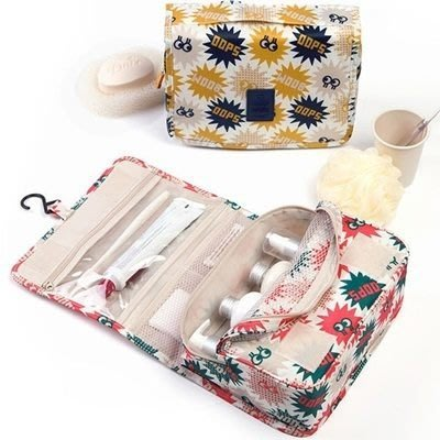 化妝袋 隨身收納包-旅行好收納可愛便攜女防水袋6色73d9[獨家進口][米蘭精品]