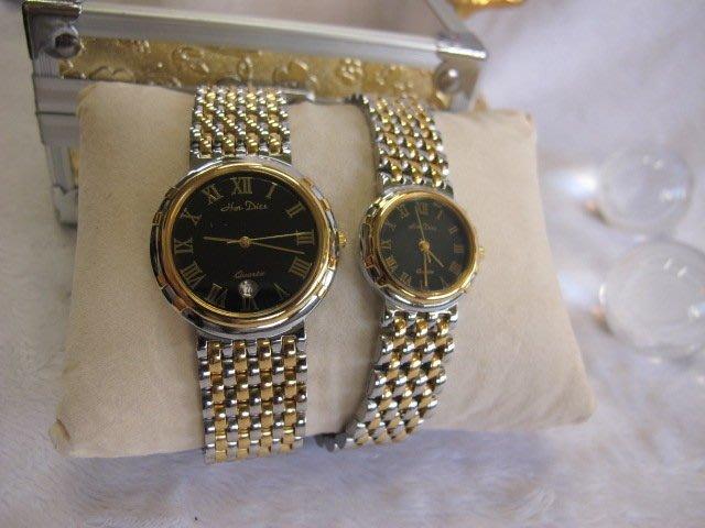 二手舖~ NO.7 高級時尚瑞士男女對錶 老闆慶祝3周年原價3230元優惠價1對只賣1600元 庫存全新品