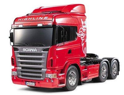 【TAMIYA 56323】1/14 SCANIA 斯堪尼亞 R620 HIGHLINE 6×4 3軸 拖車頭 標準版