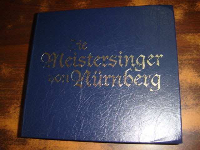 好音悅 半銀圈 Solti 蕭提 Wagner 華格納 紐倫堡的名歌手 4CD 限量精裝版 DECCA 德PMDC01版