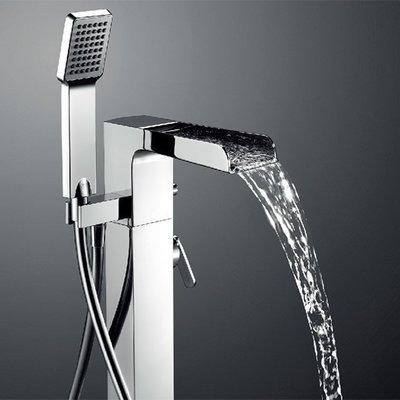 【亞御麗緻衛浴】BETTOR Cascade 泉瀑系列 立柱式瀑布浴缸龍頭 FH 8185-D67