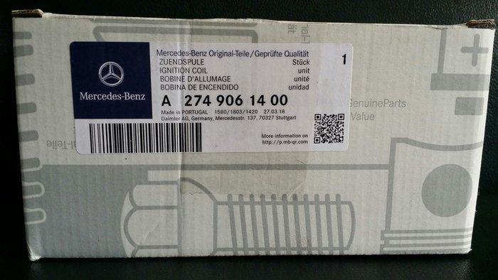 ☆正☆ Mercdes Benz M274 M270 4缸 CGI Turbo 渦輪 引擎 專用 考兒 點火點火線圈 正廠零件 現貨供應 w205 w213