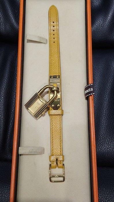 ☆貴族☆HERMES凱莉錶,9成新,狀況新如圖,尺寸長19×寬1.5×高0.5公分