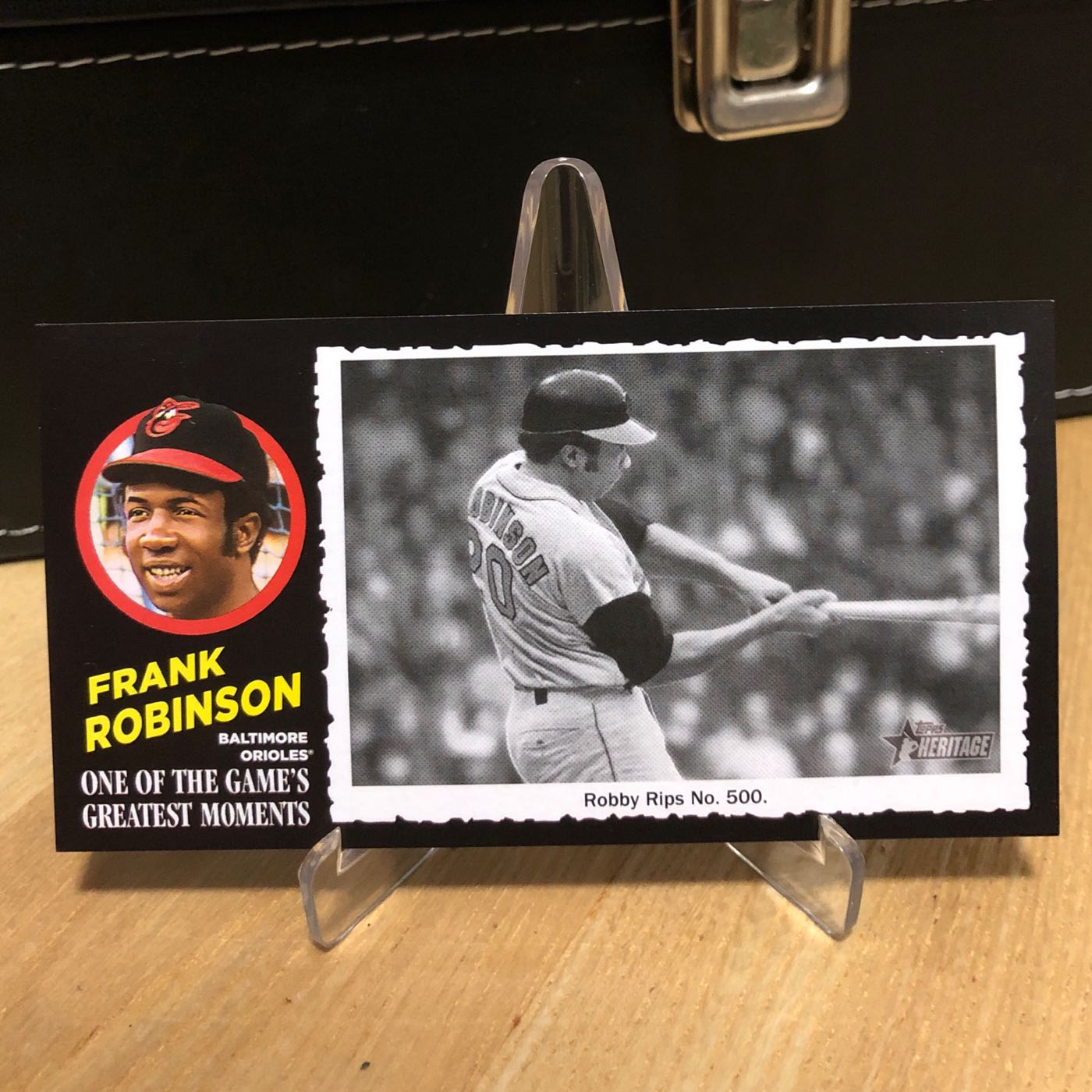 2020 Topps Heritage High Number FRANK ROBINSON 1971 Greatest Moments Orioles #6