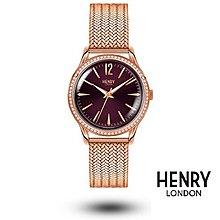 HENRY LONDON 英國前衛品牌 HAMPSTEAD系列腕錶HL34-SM-0196