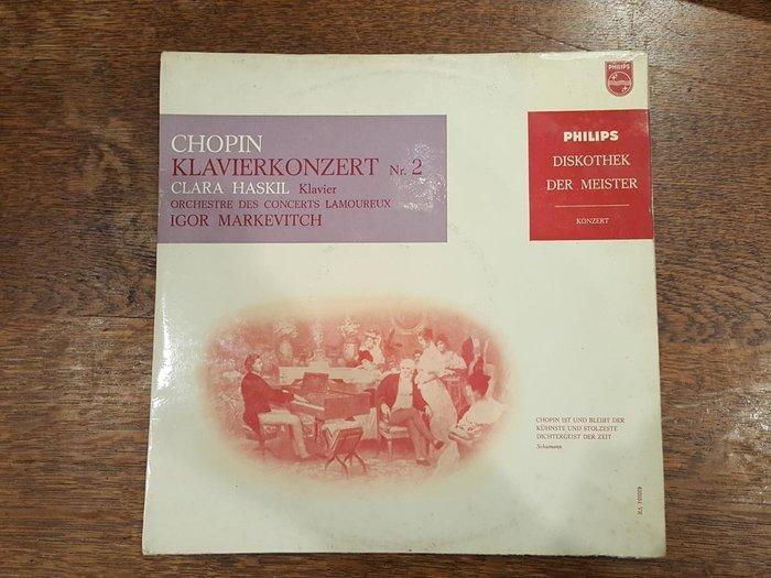 【卡卡頌 歐洲跳蚤市場/歐洲古董】荷蘭PHILIPS_Clara Haskil 蕭邦 鋼琴古典樂 十吋黑膠唱片
