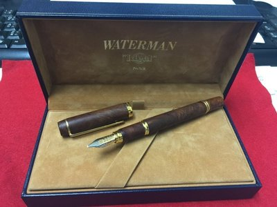 Waterman Le Man 100 Briar Wood Broad (石楠木)  18K  地球尖 B 尖