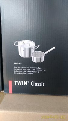 德國雙人 18-10鍋子 雙人牌雙鍋組 20公分湯鍋3.5公升~16公分 1.5公升 牛奶鍋 泡麵鍋 twin-classic