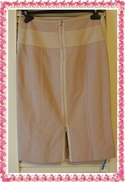 原價$73900 奧斯卡設計大師Narciso Rodriguez裸色走秀款鉛筆裙
