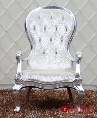 [紅蘋果傢俱] CT0055 新古典  休閒椅