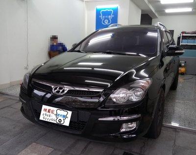 Hyundai I30-A柱+B柱+C柱+四車門下方+尾門上方 汽車隔音條 套裝組【靜化論】