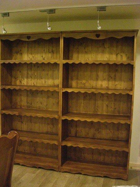 阿亮木頭工坊..鄉村風書櫃/儲物櫃