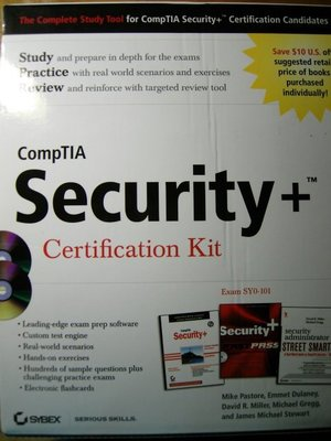 《CompTIA Security+ Certification Kit》ISBN:0470285923