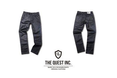 【QUEST】QUEST S/S WAXED PANTS 窄身 膠褲 蠟褲