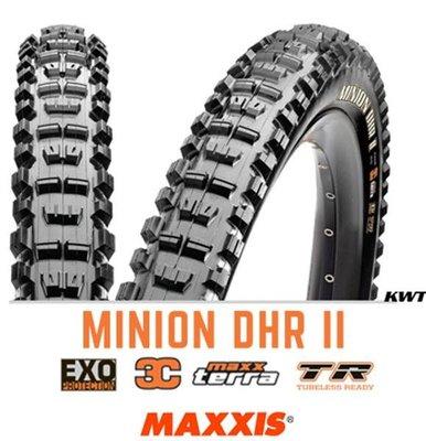 【單車元素】Maxxis 瑪吉斯 Minion DHR II 27.5 x 2.3 登山車 無內胎 外胎 可折