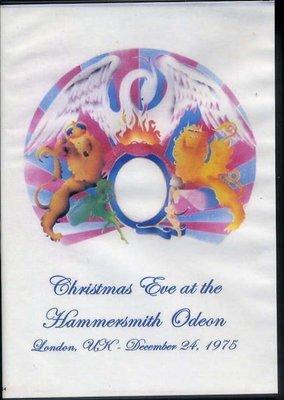##非官方DVD  QUEEN  Christmas Eve LIVE At The Hammersmith Odeon