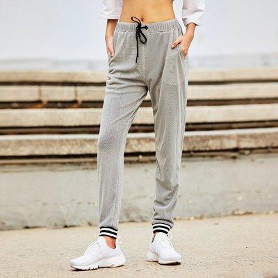 怪力少女運動褲女長褲寬松彈力修身跑步訓練休閑健身褲小腳衛褲