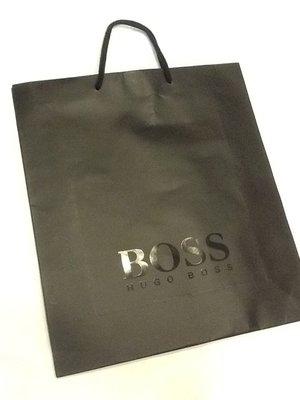 羅浮宮 國際專櫃真品 BOSS 原廠正品中紙袋 提袋 bally lv HERMES miumiu tods Loewe