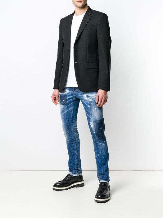 現貨【DSQUARED 2】2019春夏 激烈水洗色塊COOL GUY牛仔褲 *30%OFF*