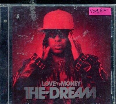 *還有唱片行* THE DREAM / LOVE VS MONEY 二手 Y2982 (封面底破)