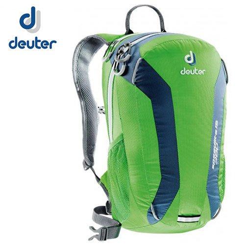 丹大戶外 德國【Deuter】33111 Speed Lite 15L 超輕量旅遊單車背包 綠/藍