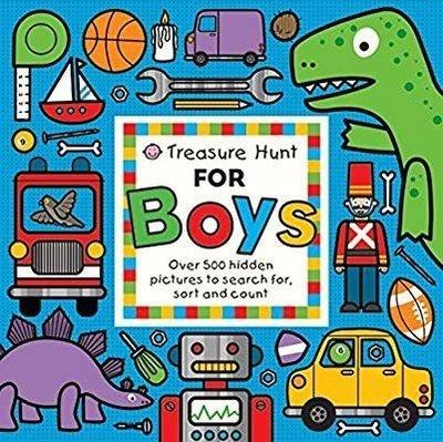 二手《Treasure Hunt for Boys: Over 500 Hidden Pictures to Search For》男孩尋寶書
