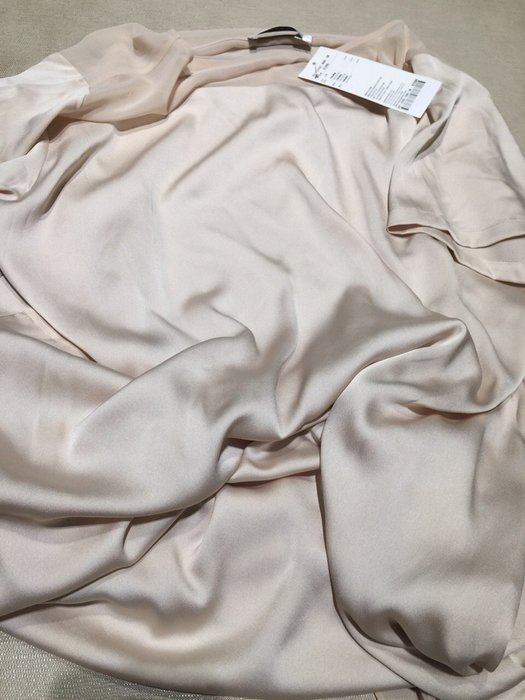 全新 竇騰璜 張李玉菁 蜜桃粉膚色 好質感貴氣連身裙 洋裝 補實品照 STEPHANE DOU 設計師