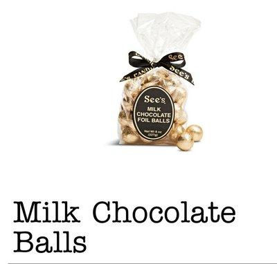 See's 時思 巧克力球時思牛奶巧克力球時思薄荷香脆威化巧克力