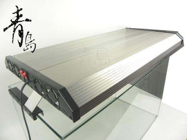 H。青島水族。4T5-2124極之光二代--T5超薄型鋁合金燈具(含腳架+免運)==2.1尺四燈(寬32cm)
