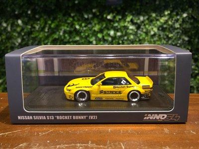 1/64 Inno64 Nissan Silvia S13 PANDEM Bunny IN64S13V2YL【MGM】