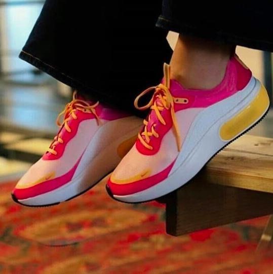 限時特價南◇2020 3月 Nike  Air Max DIA SE 女鞋 桃粉 黃 AR7410-102 增高 孫芸芸