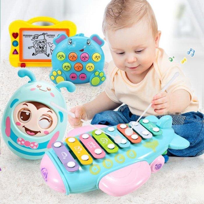 八個月寶寶玩具1-3歲嬰兒益智八音琴嬰幼兒童手敲琴男孩女孩