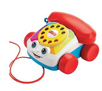 【魔法世界】美國 Fisher-Price 費雪經典可愛電話