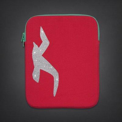 【天普小棧】HOLLISTER HCO Ipad Tablet Case平板電腦 IPAD保護套殼亮粉logo現貨抵台