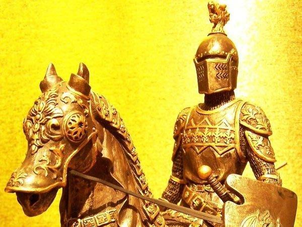 [ Vero 設計作品 鐵甲武士 馬上英姿-儀列 ]-歐洲中古世紀 希臘羅馬武士.