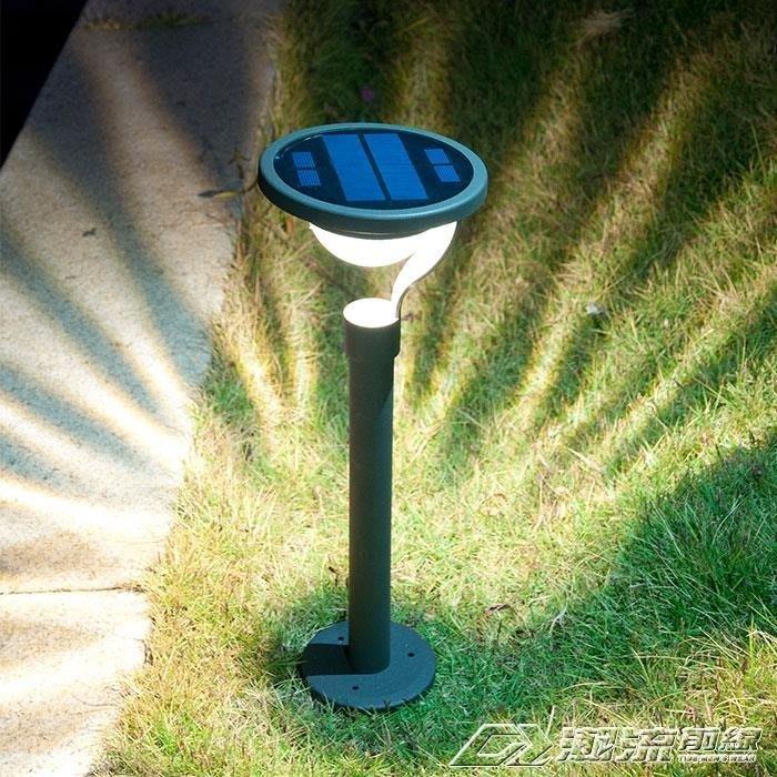 太陽能燈戶外庭院燈家用超亮LED草坪燈防水花園別墅裝飾地插路燈