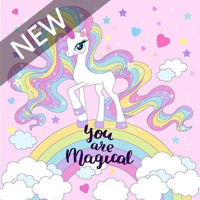 日本Pikka Pikka世界最細纖維毛孔潔淨布/A84夢幻系列_彩虹小馬-粉紅 / Little Pony-pink